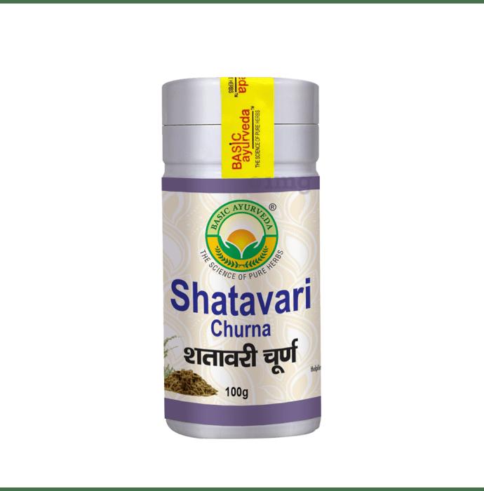 Basic Ayurveda Shatavari Churna: Buy jar of 100 gm Churna