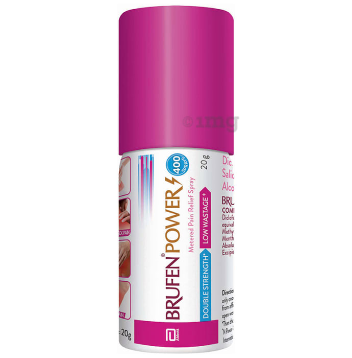 Brufen Power Metered Pain Relief Spray