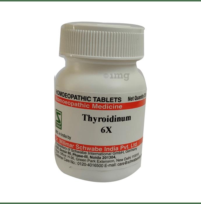 Dr Willmar Schwabe India Thyroidinum Trituration Tablet 6X