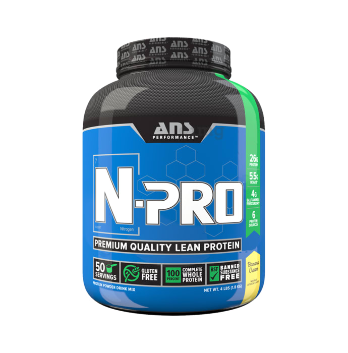 ANS Performance Banana Cream N-Pro Premium Quality Lean Protein