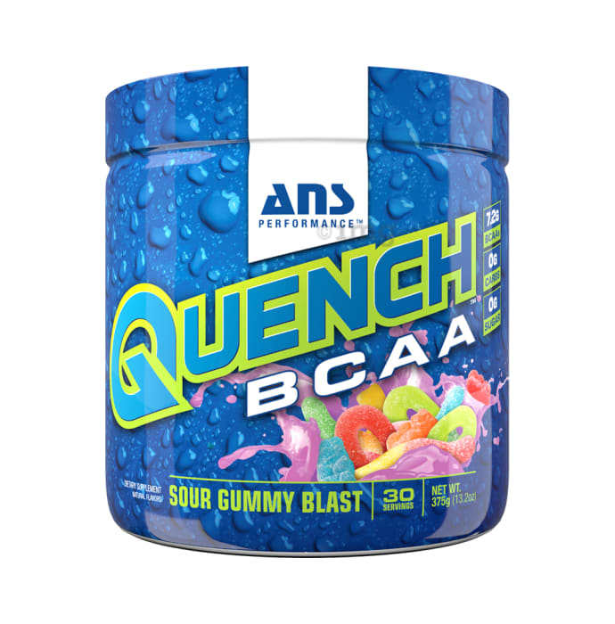 ANS Performance Sour Gummy Blast Quench BCAA Powder