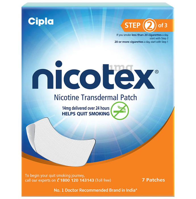 Nicotex 14mg Patch