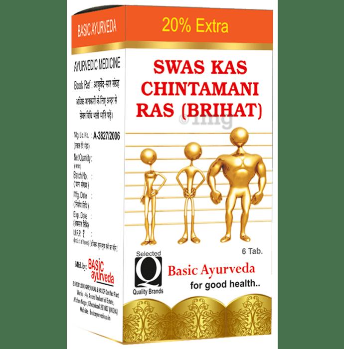 Basic Ayurveda Shwas Kas Chintamani Ras with Gold