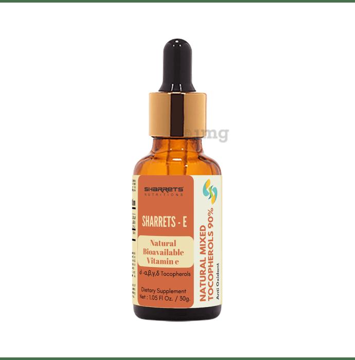 Sharrets Natural Mixed Tocopherol Vitamin-E Liquid