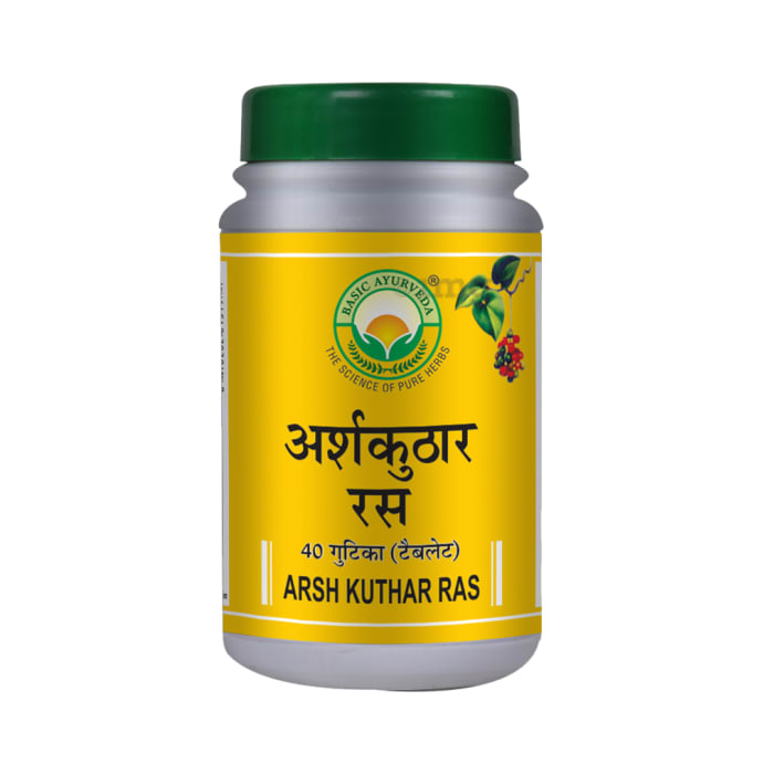 Basic Ayurveda Arsh Kuthar Ras Tablet