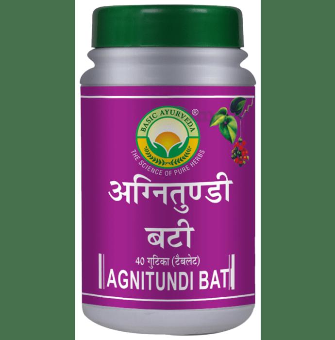 Basic Ayurveda Agnitundi Bati