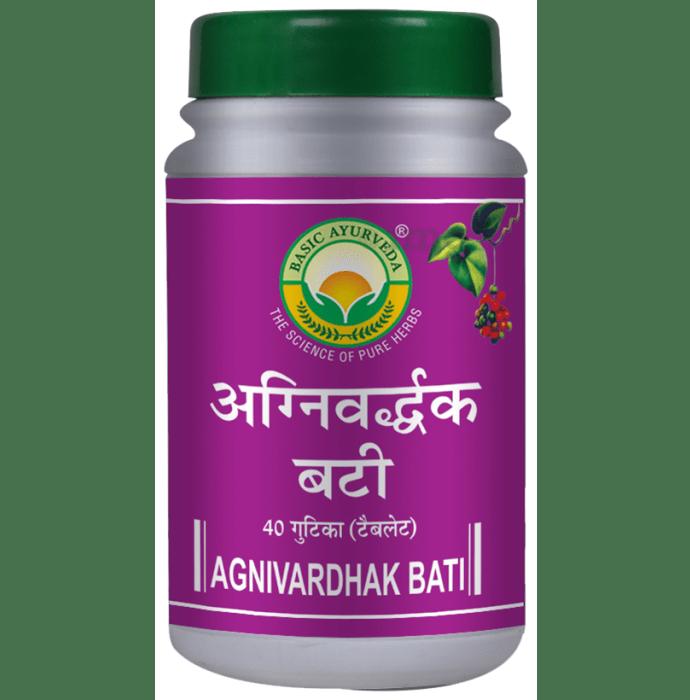 Basic Ayurveda Agnivardhak Bati