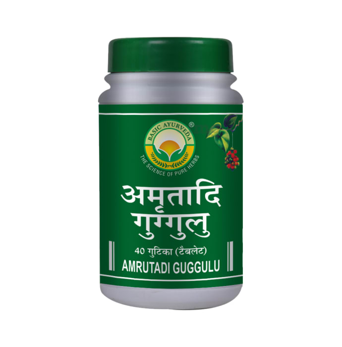 Basic Ayurveda Amrutadi Guggulu Tablet