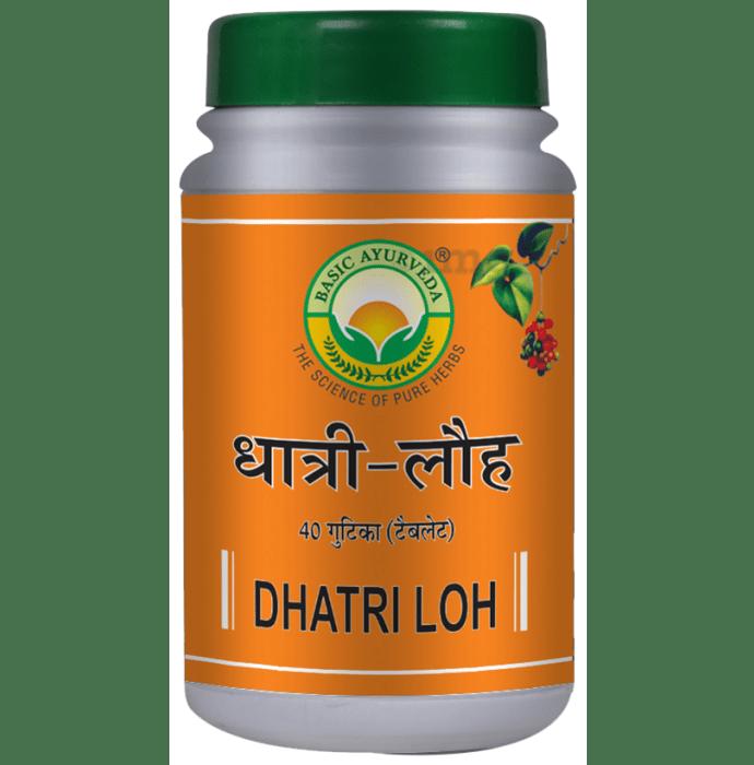 Basic Ayurveda Dhatri Loh Tablet