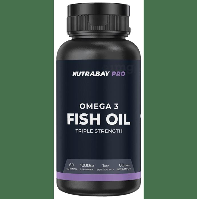 Nutrabay Pro Omega 3 Fish Oil Triple Strength Capsule