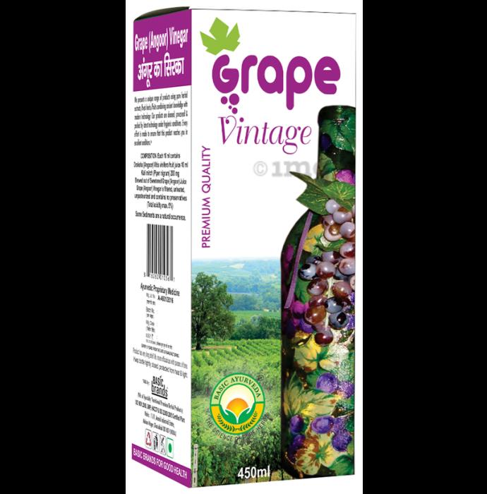 Basic Ayurveda Grape Vinegar