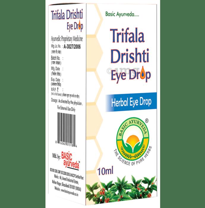 Basic Ayurveda Trifala Drishti Eye Drop
