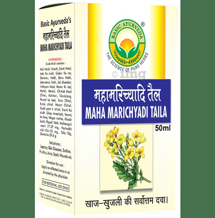 Basic Ayurveda Maha Marichyadi Taila