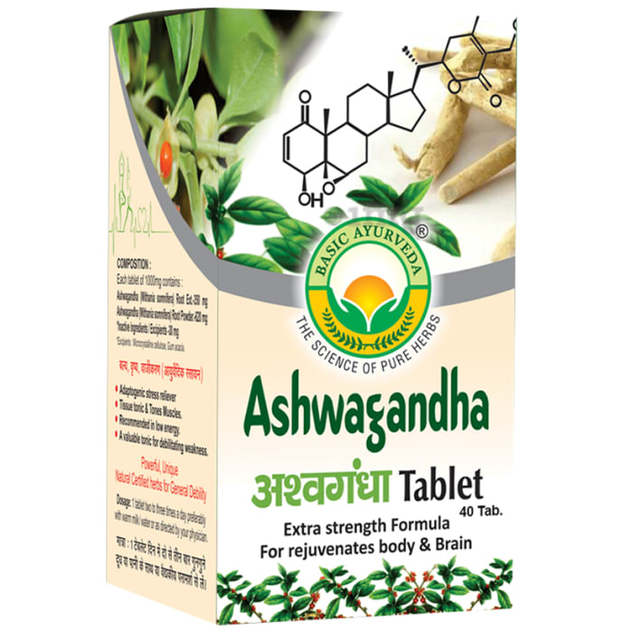 Basic Ayurveda Ashwagandha Tablet