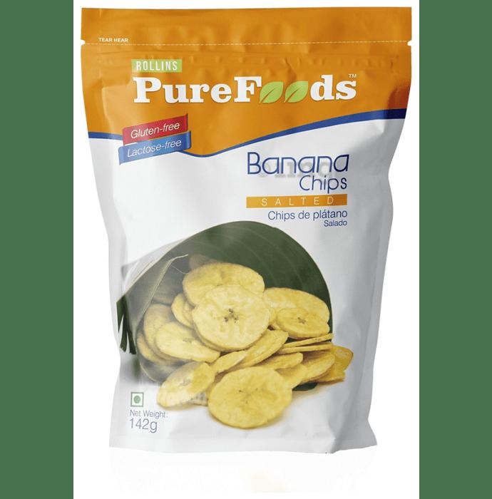 PureFoods Gluten Free Salted Banana Chips