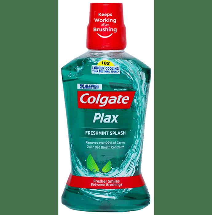 Colgate Plax Fresh Mint Splash Alcohol Free Mouth Wash