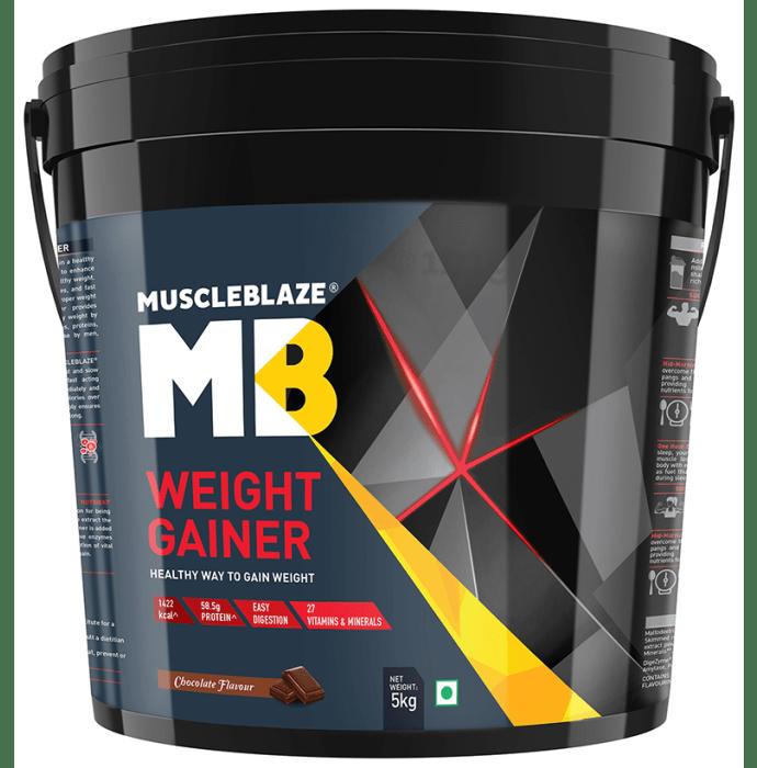 MuscleBlaze Chocolate Weight Gainer