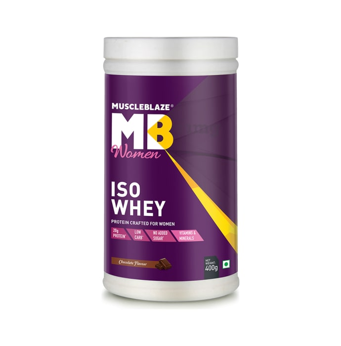 MuscleBlaze Chocolate Women Iso Whey Protein