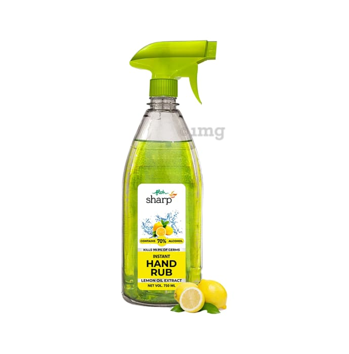 FLOH Lemon Oil Extract Sharp Instant Hand Rub Sanitizer
