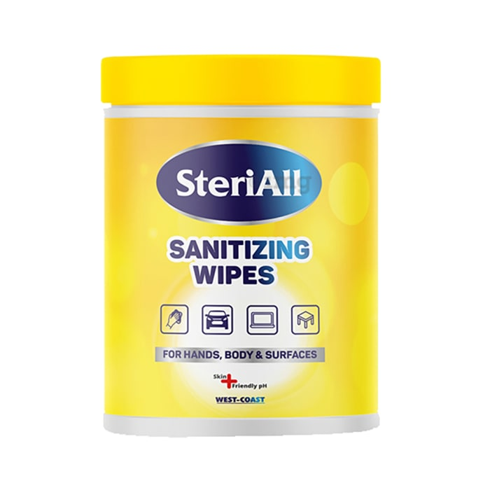 SteriAll Sanitizing Wipes (50 Each)