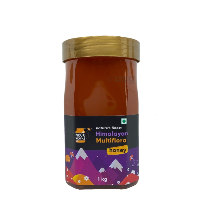 Nectworks Multiflora Nature's Finest Himalayan Honey