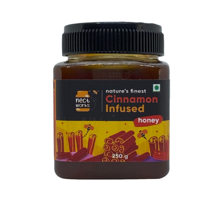Nectworks Cinnamon-Infused Nature's Finest Himalayan Honey
