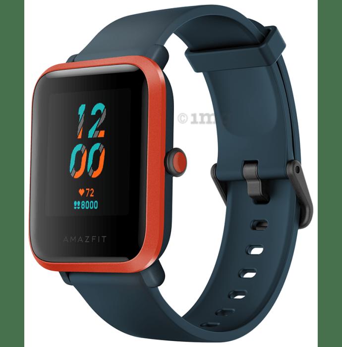 Amazfit Bip S Smart Watch Red Orange
