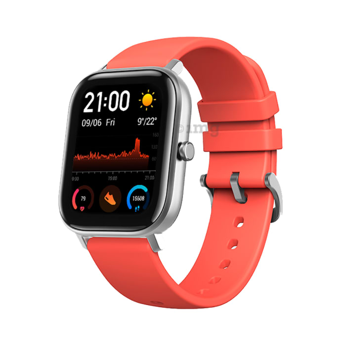 Amazfit Huami GTS Smart Watch Vermillion Orange