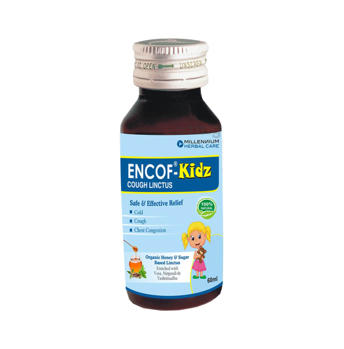 Encof -Kidz Cough Linctus (60ml Each)