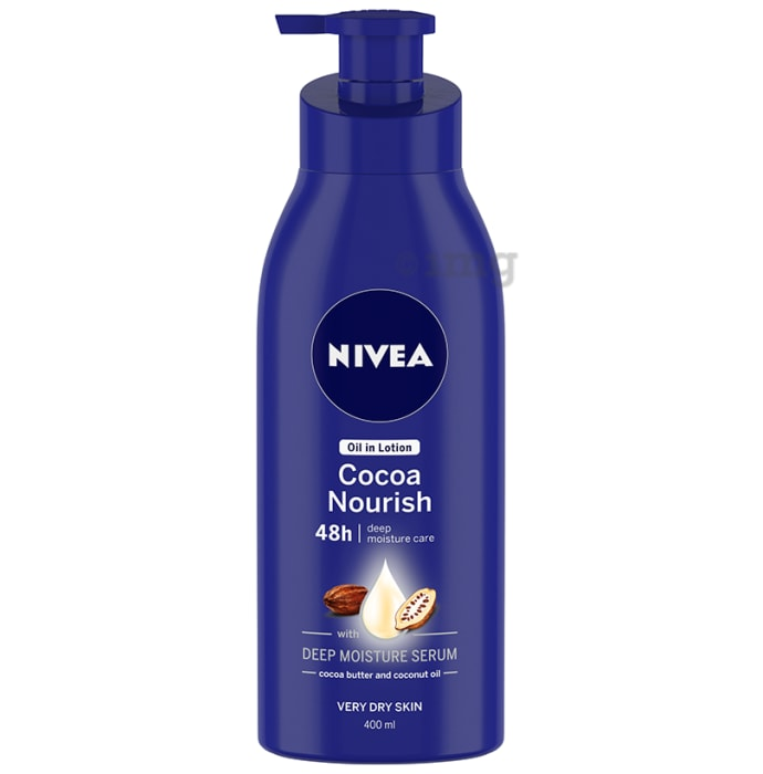 Nivea Cocoa Nourish Deep Moisture Serum Lotion for Very Dry Skin