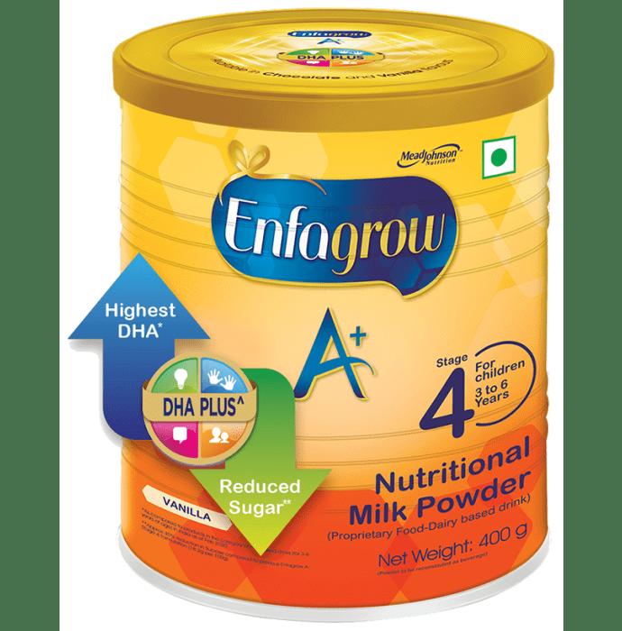 Enfagrow A+ Stage 4 Nutritional Milk Powder (3-6 Years) Vanilla