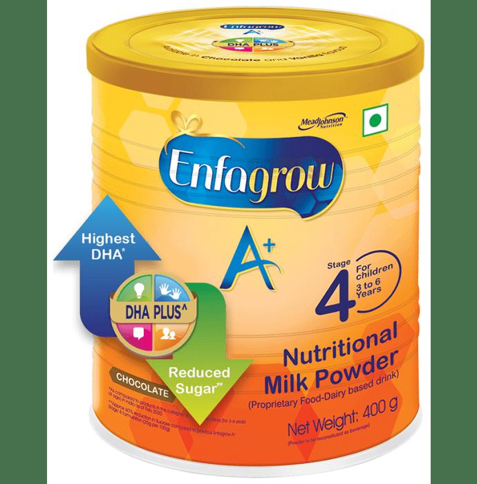 Enfagrow A+ Stage 4 Nutritional Milk Powder (3-6 Years) Chocolate