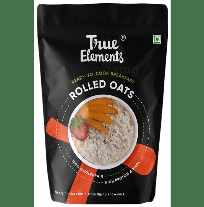 True Elements Rolled Oats Gluten Free