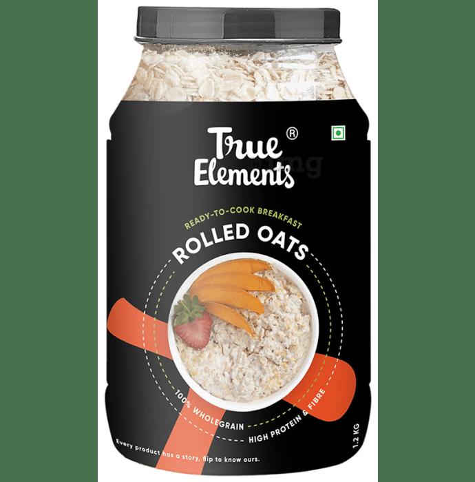 True Elements Rolled Oats Gluten Free Gluten Free