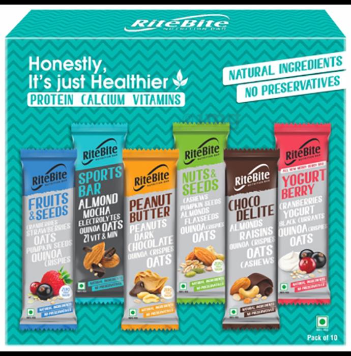 RiteBite Nutrition Bar Assorted