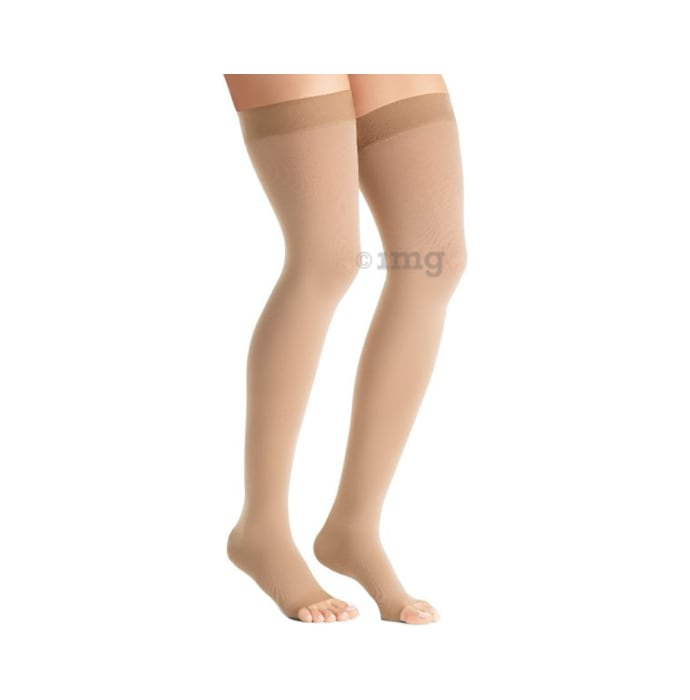 Jobst AG Thigh High Opaque Medical Compression Stockings Size 2