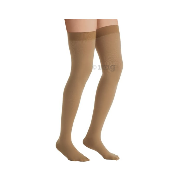 Jobst Relief Thigh High Medical Compression Stockings Small 20-30mmHg - Class 2