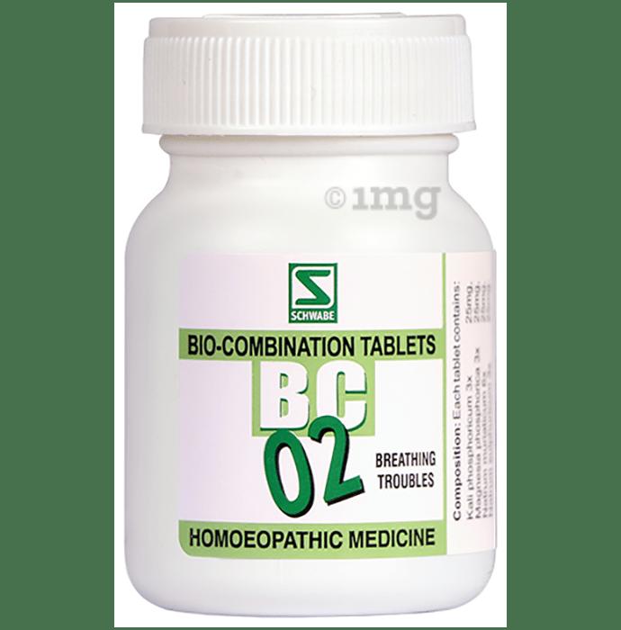 Dr Willmar Schwabe India Bio-Combination 02 (BC 02) Tablet