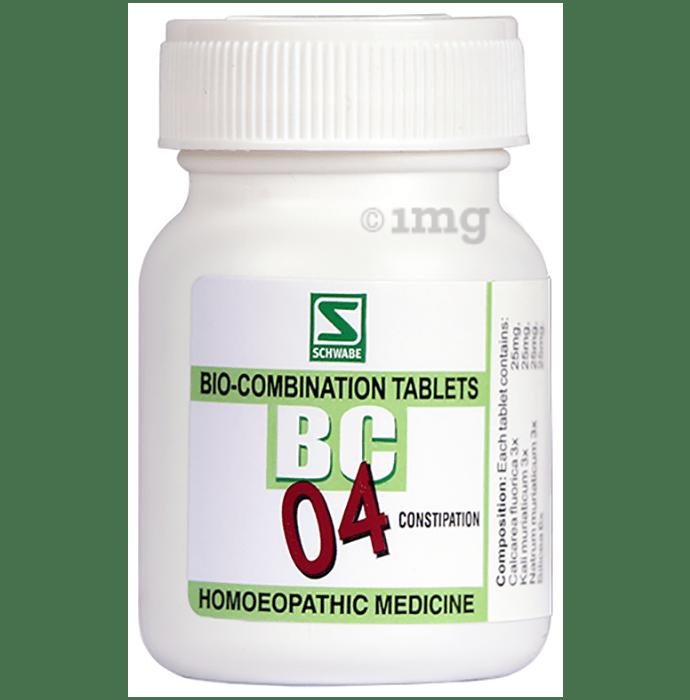 Dr Willmar Schwabe India Bio-Combination 04 (BC 04) Tablet