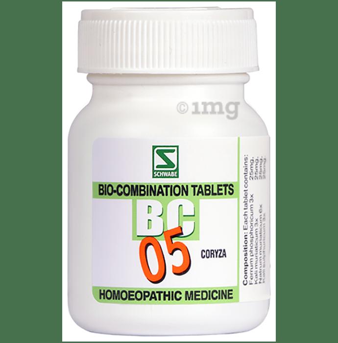 Dr Willmar Schwabe India Bio-Combination 05 (BC 05) Tablet
