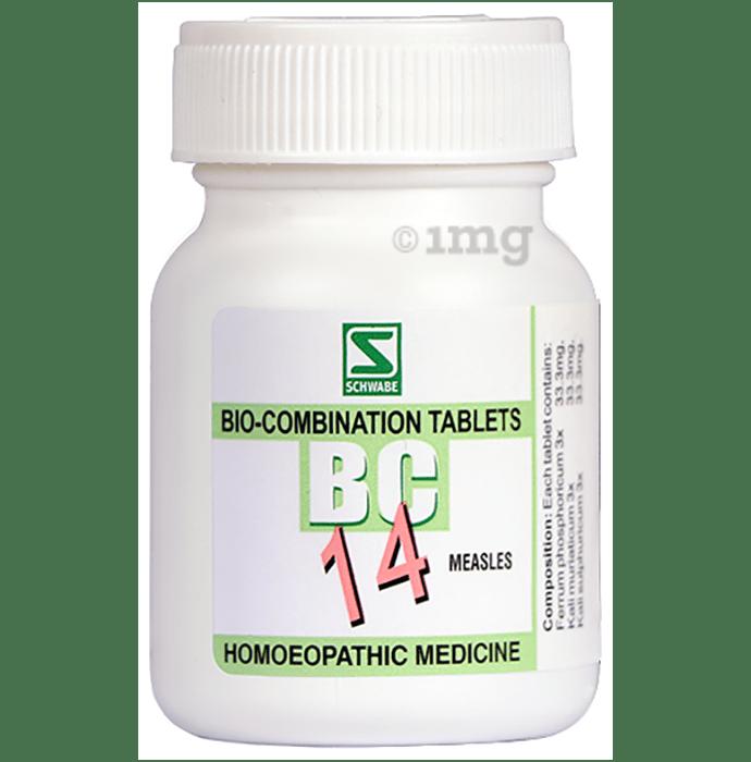 Dr Willmar Schwabe India Bio-Combination 14 (BC 14) Tablet