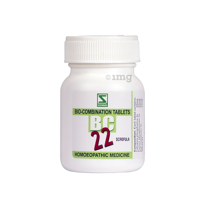 Dr Willmar Schwabe India Bio-Combination 22 (BC 22) Tablet