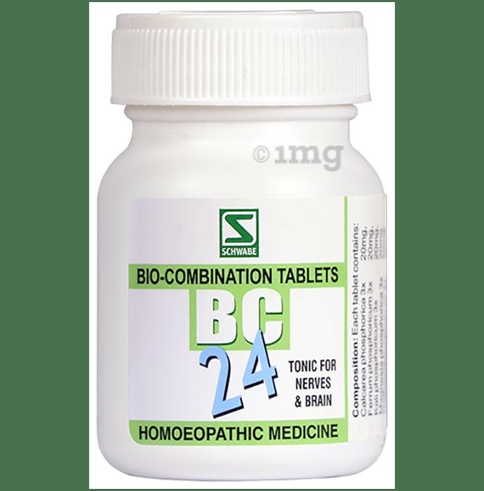 Dr Willmar Schwabe India Bio-Combination 24 (BC 24) Tablet