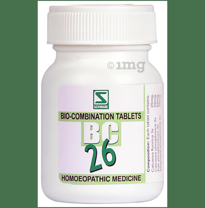 Dr Willmar Schwabe India Bio-Combination 26 (BC 26) Tablet