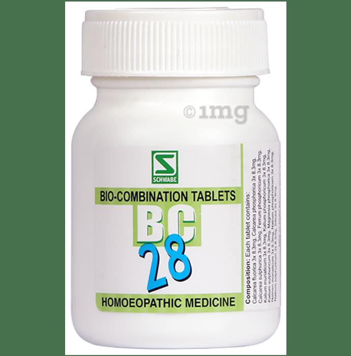 Dr Willmar Schwabe India Bio-Combination 28 (BC 28) Tablet