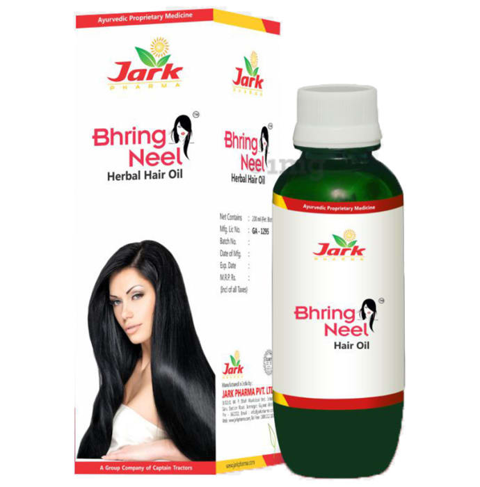 Jark Pharma Bhring Neel Herbal Hair Oil