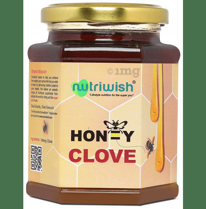Nutriwish 100% Pure Organic Honey Clove