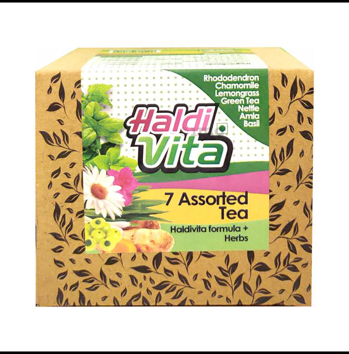 Haldivita Assorted - 7 Flavours Tea (25 Bags Each)
