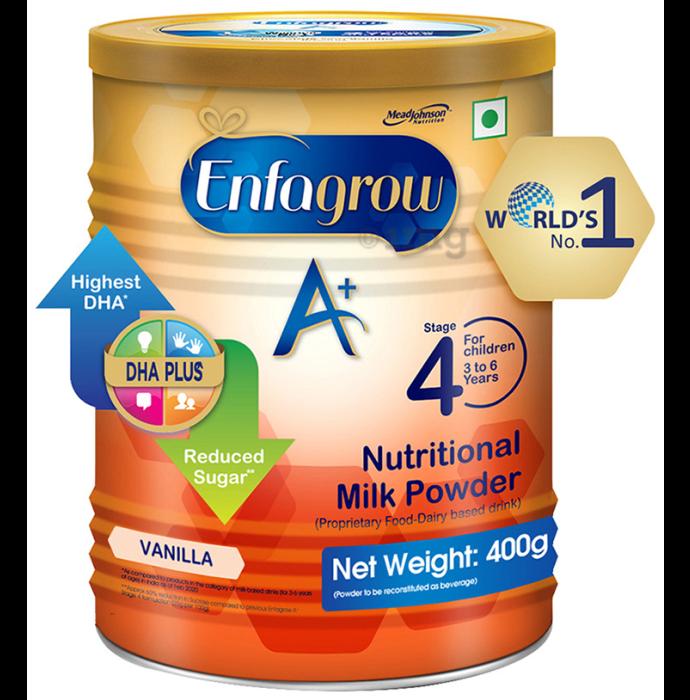 Enfagrow A+ Nutritional Milk Powder (400gm Each) Vanilla