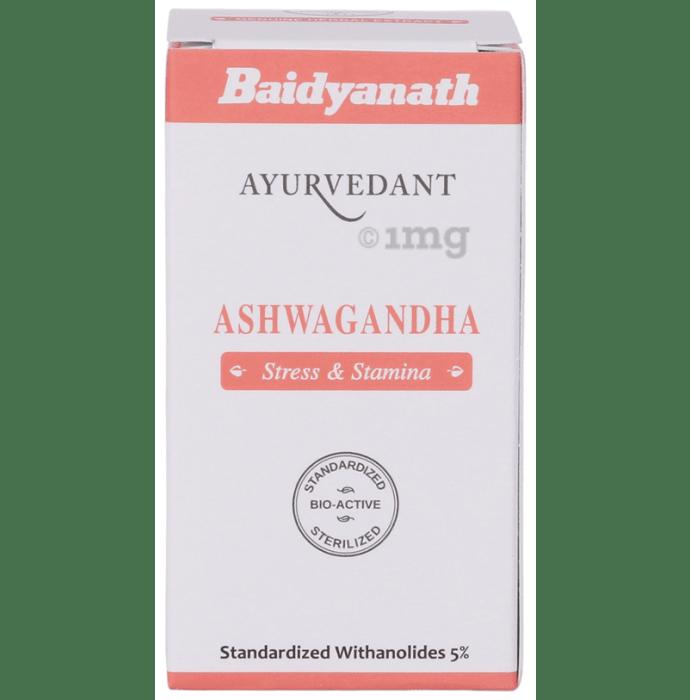 Baidyanath (Jhansi) Ayuvedant Ashwagandha Tablet